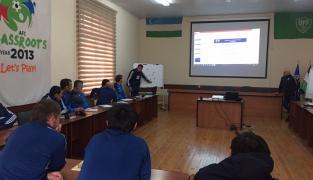 В Ташкенте начались тренерские курсы АФК по программе сертификата